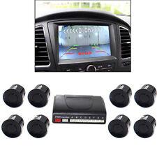 Electromagnetic Parktronic Car Parking sensors 8Radars Alarm Buzzer Car Detector