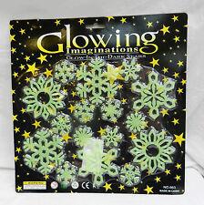 Glowing Imaginations - Glow in the Dark Stickers - Snowflake Set