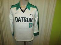 """Borussia Mönchengladbach Original Puma Langarm Trikot 1981/82 """"DATSUN"""" Gr.4 Neu"""