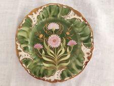 "Stunning Rare Nymphenburg Porcelain Floral Plate 5 1/2"""