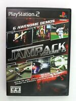PS2 Jampack Volume 15 (Sony PlayStation 2, 2006) Complete Tested