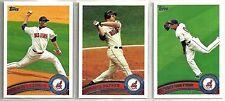2011 Topps 21-card Cleveland Indians Baseball Team Set   Travis Hafner
