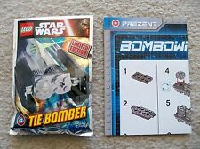 LEGO Star Wars - Rare - 911613 Tie Bomber foil pack set w/ Instructions