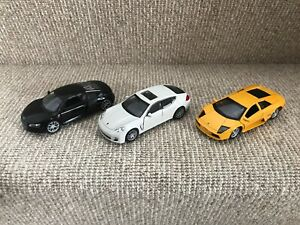 Welly Toy Cars Porsche, Lamborghini, Audi R8