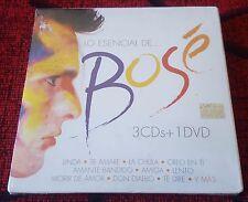MIGUEL BOSE **Lo Esencial De** VERY SCARCE 2010 Mexican 3-CD SET + DVD SEALED!