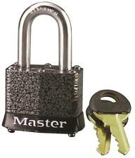 "New Master Lock 380D High Security Steel Keyed Padlock 9/32"" X 1 1/8"" 6638217"