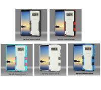For Samsung Galaxy Note 8 TUFF Vivid Hard Silicone Hybrid Protector Cover Case