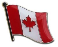 Canada Flag Lapel Hat Pin FAST USA SHIPPING