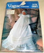 "Vogue Sewing Pattern 9176 CHRISTENING DRESS Bonnet Slip & Panties for 16"" DOLL"