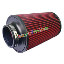 "3"" 85mm & 235mm Height High Flow Universal Car Auto Big Cold Air Intake Filter"