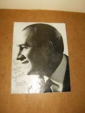 Ancien programme LE TEMPS DES GUITARES - 1963 - avec 4 autographes - TINO ROSSI