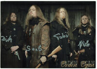 Orden Ogan - Metal - original signierte Autogrammkarte - hand signed