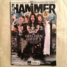 METAL HAMMER GOLDEN GODS X ANNIVERSARY ISSUE AUGUST 2012