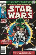 Starwars #1 1977 Holo: 485 Graded 9.8