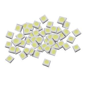 50 Stücke Super Helle Flache Top Led Weiß F3 3Mm Weitwinkel Leds Lampen Ic Ne ll