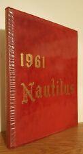 1961 The Nautilus, Santa Monica California High School Yearbook Original Annual