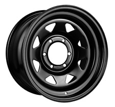 16 INCH KING STEEL TERRA WHEEL 16X7 5X114.3 +18 OFFSET BLACK WHEELS