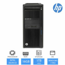 PC de bureau Intel Xeon E5 Windows 7 HP
