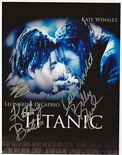 TITANIC  8 x 10 REPRINT PHOTO & REPRINT AUTOGRAPH ON GLOSSY PHOTO PAPER