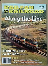 Railfan & Railroad Along the Line Special Review Alamo May 2014 FREE SHIPPING!