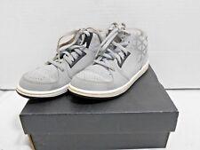 Nike Jordan Youth Size 13C Wolf Gray Blk 1 Flight 3 Bp Basketball Shoe Mid-Rise