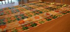 "Vintage bright scarf from Korea 100% polyester 19 1/2"" x20"""