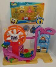 Imaginext Spongebob figures pak set with Glove World playset