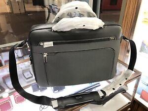 TUMI Sawyer Brief Arrive Briefcase Laptop Bag