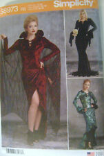 Simplicity~S8973 Misses~Femme-Fatale~Costume~Close-fit~dresses~Sewing Pattern