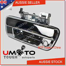 Isuzu Dmax D-Max Ute (2008-14) Tailgate Handle (Chrome) WITH Lock Hole -AU Stock