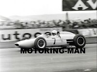 STIRLING MOSS GOODWOOD 1962 GLOVER LOTUS 18 21 1962  BEFORE ACCIDENT PHOTOGRAPH