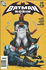 Batman And Robin Comic Issue 23 Modern Age First Print Winick March Bresson 2011