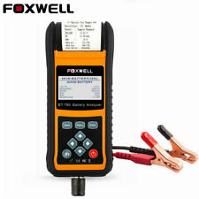 12V 24V Battery Charging System Print Test Data Check AGM EFB Foxwell BT780 US