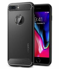 Custodia iPhone 7 Plus Spigen Rugged Armor Black massima protezione da urti