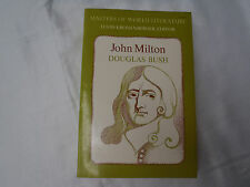 John Milton:A Sketch of His Life and Writings by Douglas Bush 1964 softcover