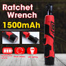 3/8'' 12V 60Nm Electric Cordless Right Ratchet Angle Wrench Tool