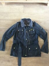Barbour International Wax Jacket Size UK10