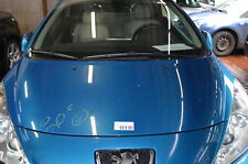 Peugeot 207 W Motorhaube ohne Anbauteile Farbe blau