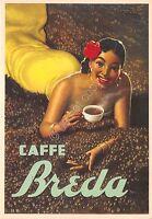 Cartolina - Postcard - Illustrata - Boccasile - Caffè Breda - Padova
