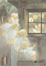 Postkarte: Mili Weber - Wie freuen wir uns alle / Engel / Weihnachten
