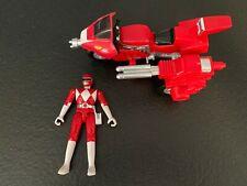 Vintage 1993 Bandai Power Rangers Battle Bike Tyrannosaurus Red