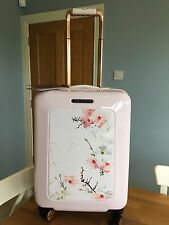 New Ted Baker small suitcase Pink Oriental Blossom print.