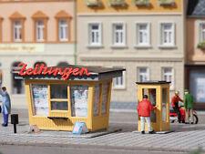 Auhagen 12340 Échelle H0 Kiosque à Journaux avec Cabine Téléphonique #