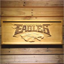 New Custom Made Nfl Football Philadelphia Eagles 3D Carved Wooden Sign