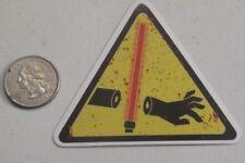 star wars sticker lightsaber warning hand cut off cell laptop bumper vinyl decal