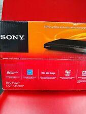 Sony DVP-SR210P DVD Player with Progressive Scan & Multi-Format Media Playback