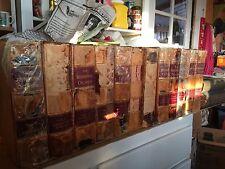 complete set lot of 15 vols 1888 Cyclopedia International,encyclopedia,leather