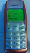 Nokia 1100 RH-18 Fabriqué en Allemagne (Bochum) Parfait état-Débloqué tous réseaux