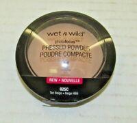 Wet n Wild Photo Focus Pressed Powder 825C Tan Beige   Free Shipping