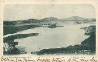 1904 VINTAGE LAKE ROTOMAHANA NZ POSTCARD sent to Tattersalls heir in Turramurra